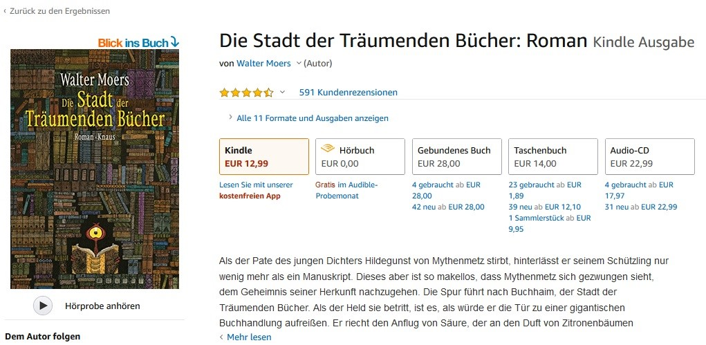 Amazon Produkttexte