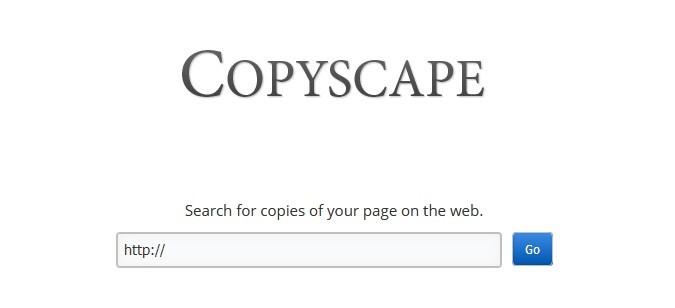 Externer Duplicate Content Copyscape