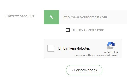 Domain Authority Check kostenlos