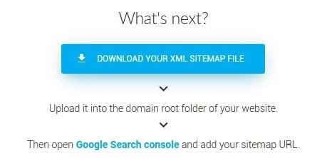 XML Sitemap Download Tool