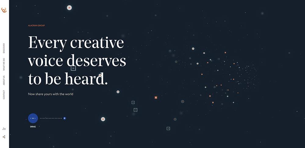 Storytelling Webdesign