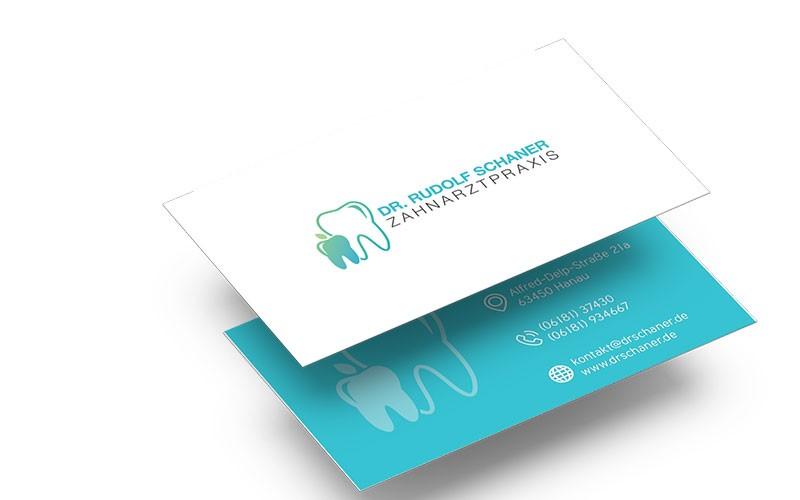 Visitenkarte Zahnarztpraxis